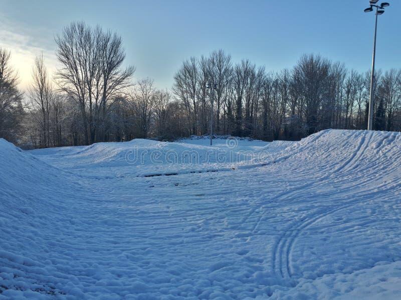 Χειμερινή χώρα των θαυμάτων στοκ εικόνα