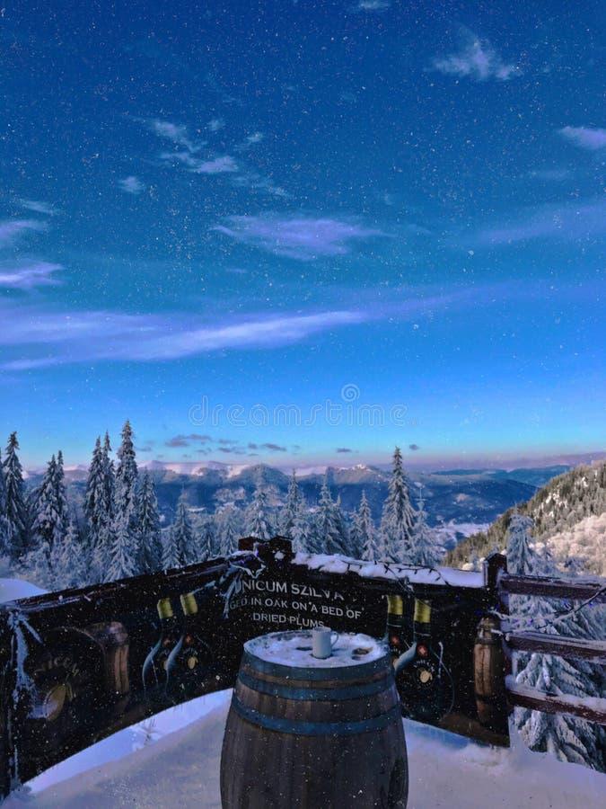 Χειμερινή χώρα των θαυμάτων στοκ φωτογραφία