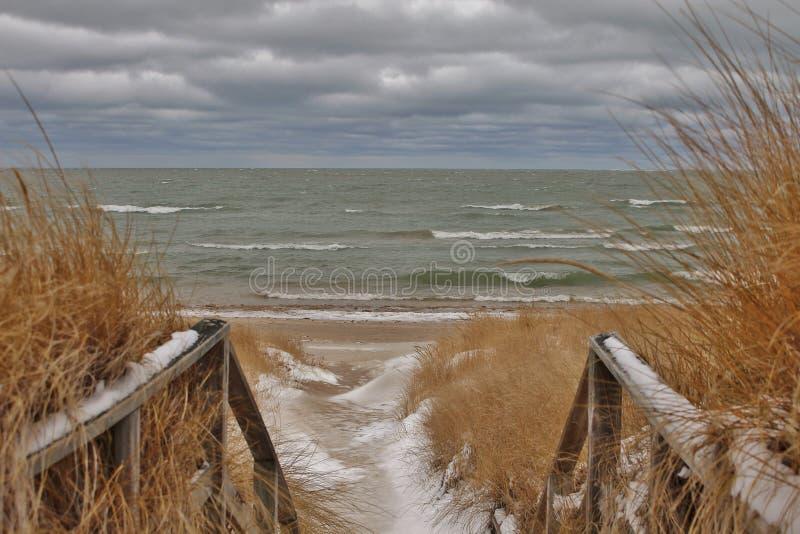 Χειμερινός περίπατος στοκ φωτογραφίες με δικαίωμα ελεύθερης χρήσης