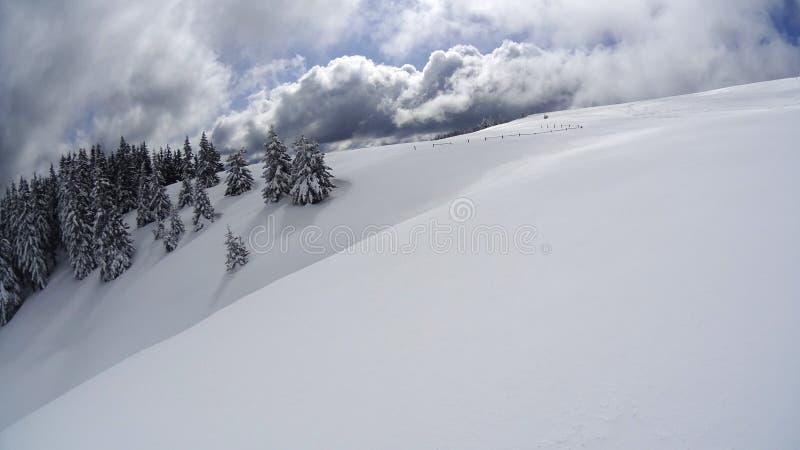 Χειμερινό βουνό στοκ φωτογραφίες