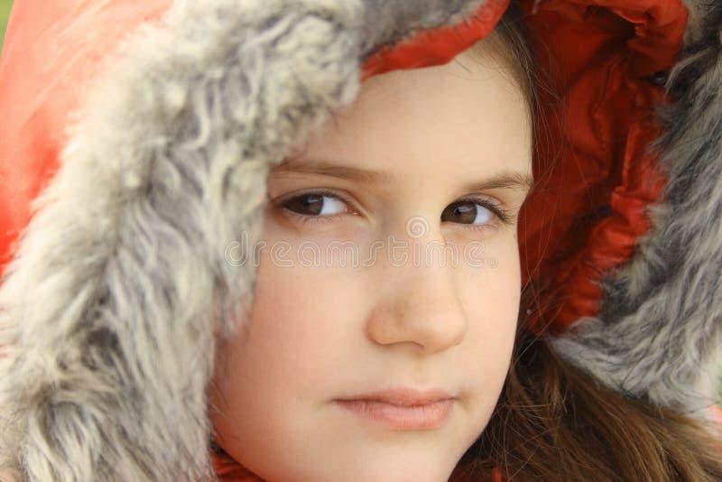 Χειμερινό κορίτσι στοκ φωτογραφίες