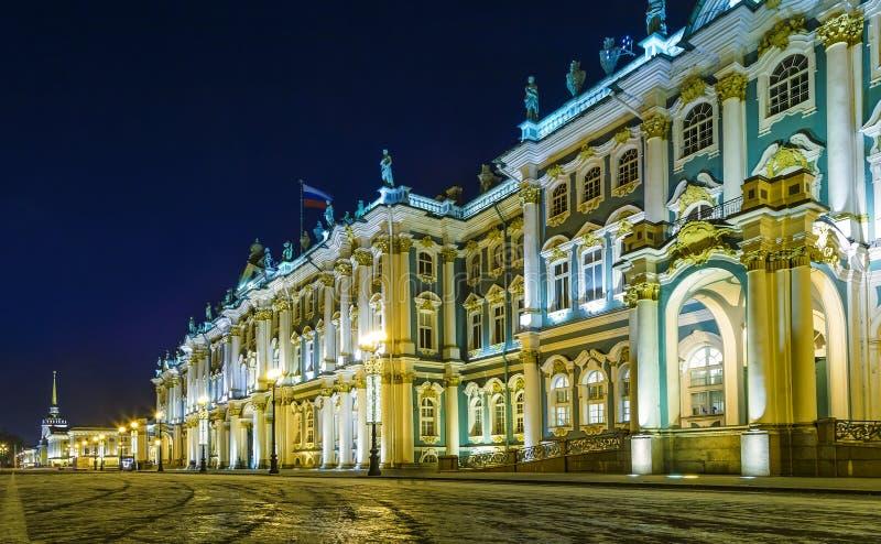 Χειμερινό παλάτι, μουσείο ερημητηρίων στον Άγιο Πετρούπολη, Ρωσία στοκ φωτογραφία