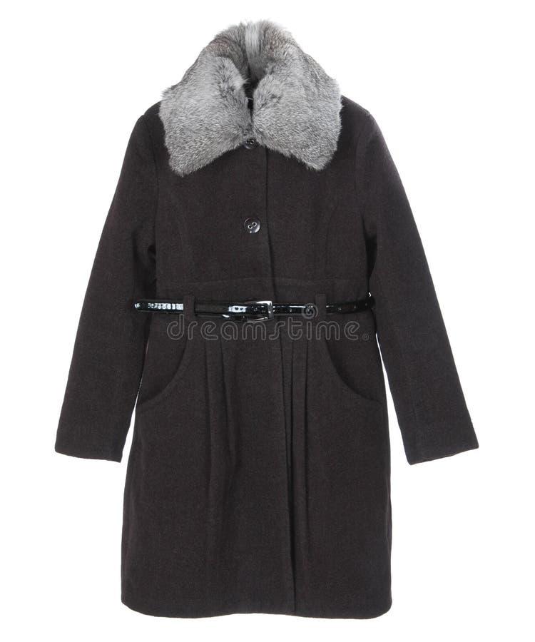 Χειμερινό παλτό στοκ φωτογραφίες