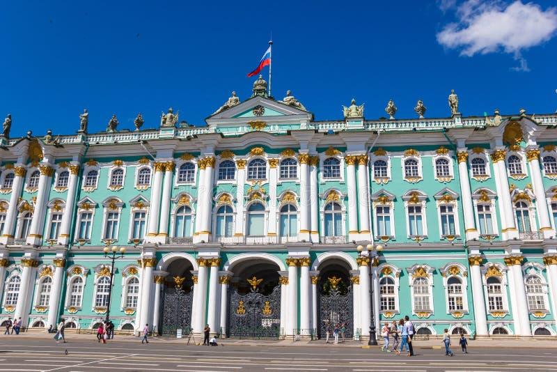 Χειμερινό παλάτι (ερημητήριο) στοκ φωτογραφία