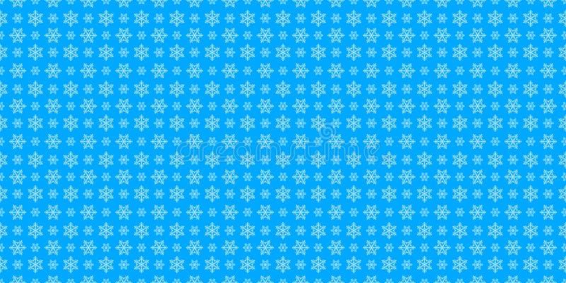 Χειμερινό σχέδιο για τα Χριστούγεννα και τις νέες διακοπές έτους, άσπρο snowfl διανυσματική απεικόνιση