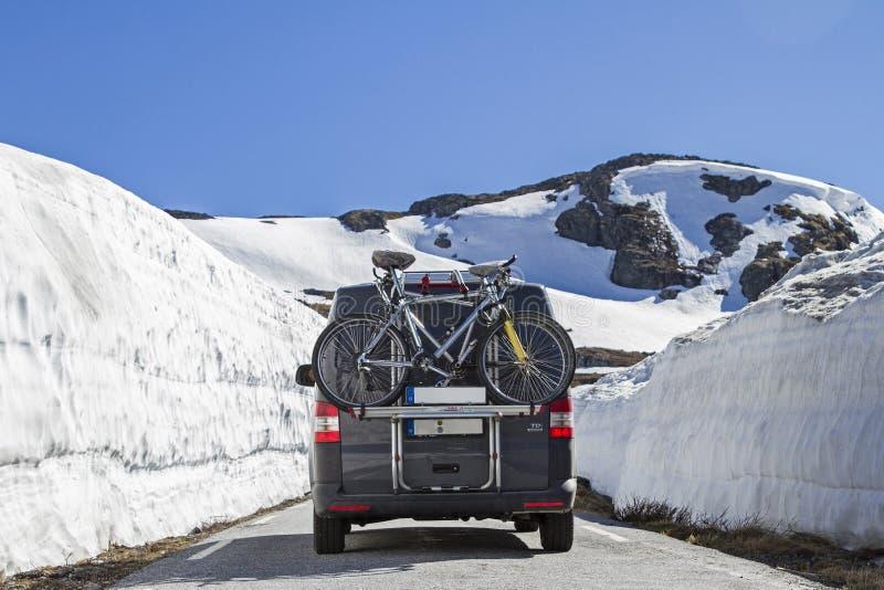 Χειμερινό τέλος σε Jotunheimen στοκ εικόνες