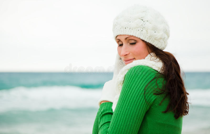 Χειμερινό φθινόπωρο υπαίθριο στοκ εικόνες με δικαίωμα ελεύθερης χρήσης