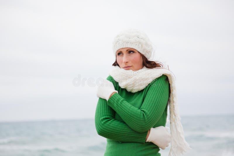 Χειμερινό φθινόπωρο υπαίθριο στοκ φωτογραφία