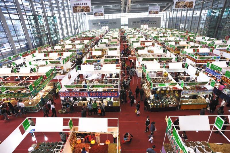 χειμώνας αγορών φεστιβάλ στοκ φωτογραφία