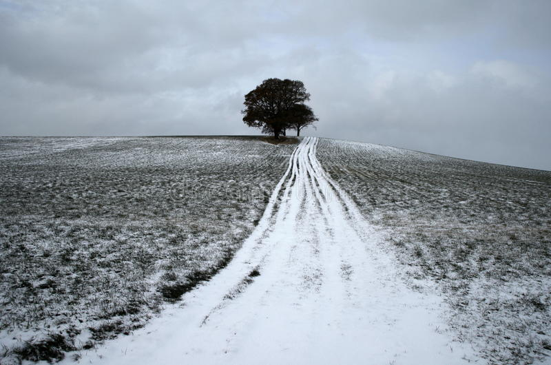 Χειμώνας 1797 απόμακρος στοκ εικόνες με δικαίωμα ελεύθερης χρήσης