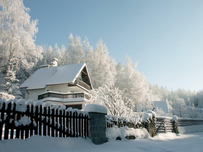 χειμώνας βουνών τοπίων στοκ φωτογραφία