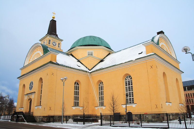 χειμώνας εκκλησιών στοκ φωτογραφία με δικαίωμα ελεύθερης χρήσης