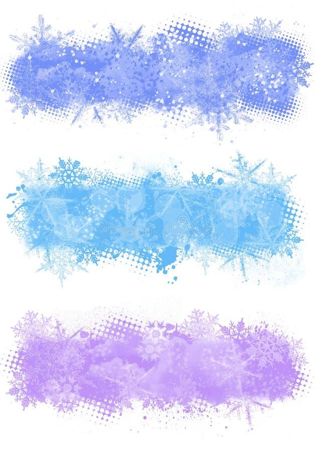 χειμώνας εμβλημάτων απεικόνιση αποθεμάτων