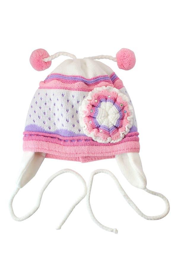 χειμώνας καπέλων s παιδιών στοκ εικόνα