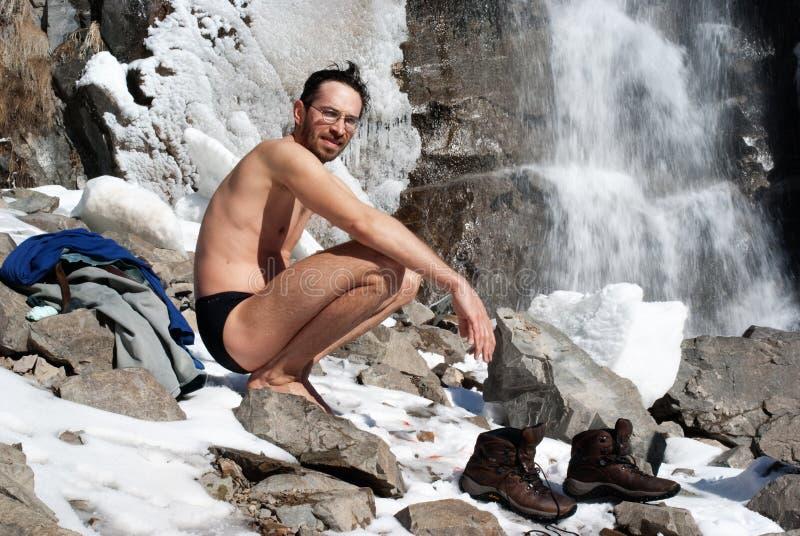 χειμώνας καταρρακτών κολ στοκ φωτογραφίες με δικαίωμα ελεύθερης χρήσης