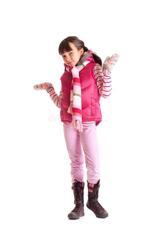 χειμώνας κοριτσιών ενδυμά στοκ φωτογραφίες με δικαίωμα ελεύθερης χρήσης