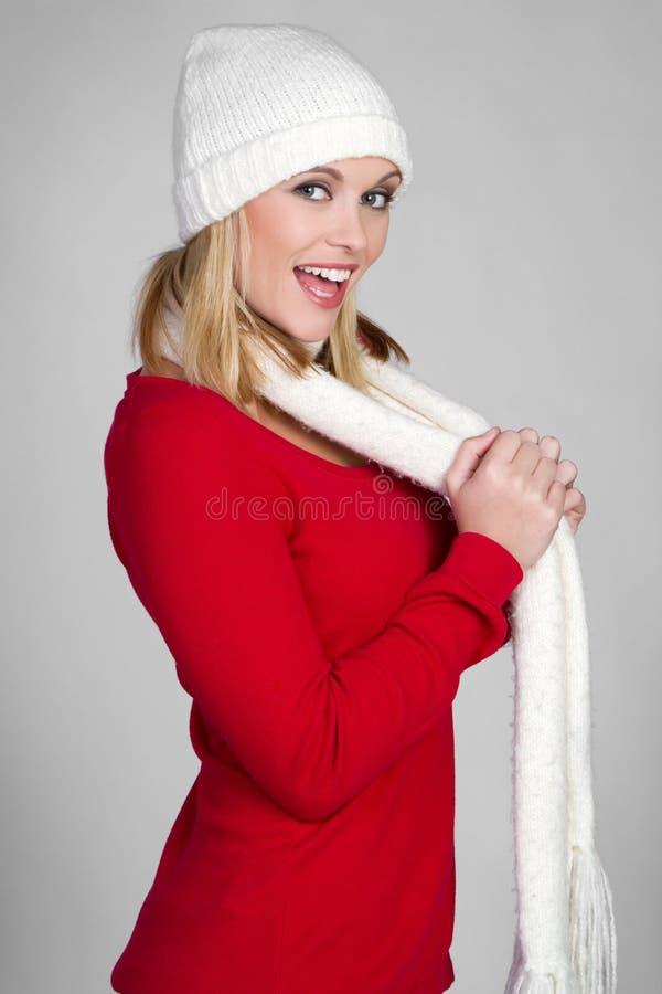 χειμώνας κοριτσιών μόδας στοκ φωτογραφία με δικαίωμα ελεύθερης χρήσης
