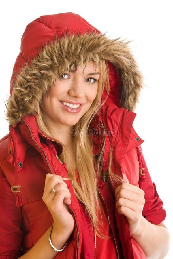 χειμώνας κοριτσιών ομορφ&i στοκ εικόνες με δικαίωμα ελεύθερης χρήσης