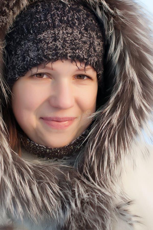 χειμώνας κοριτσιών στοκ φωτογραφία με δικαίωμα ελεύθερης χρήσης