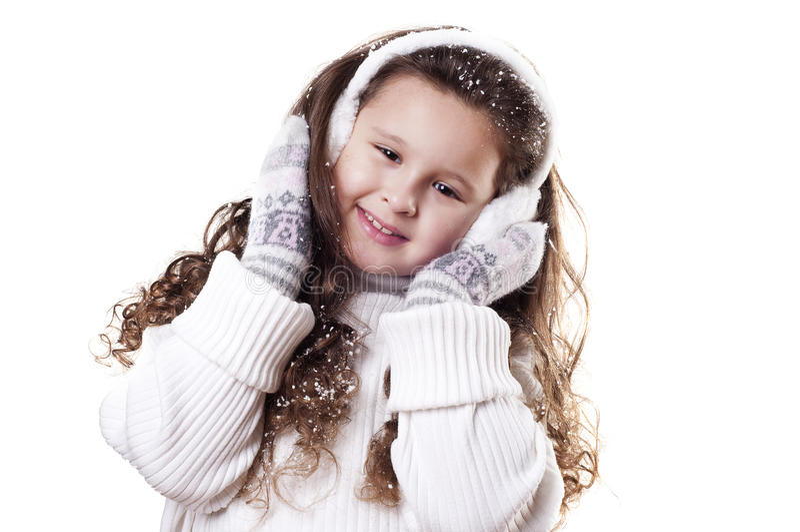 Download χειμώνας κοριτσιών στοκ εικόνα. εικόνα από φαντασία, πρόσωπο - 22786995