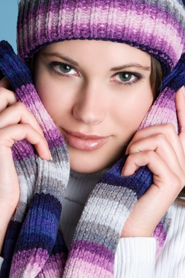 χειμώνας κοριτσιών στοκ φωτογραφίες με δικαίωμα ελεύθερης χρήσης