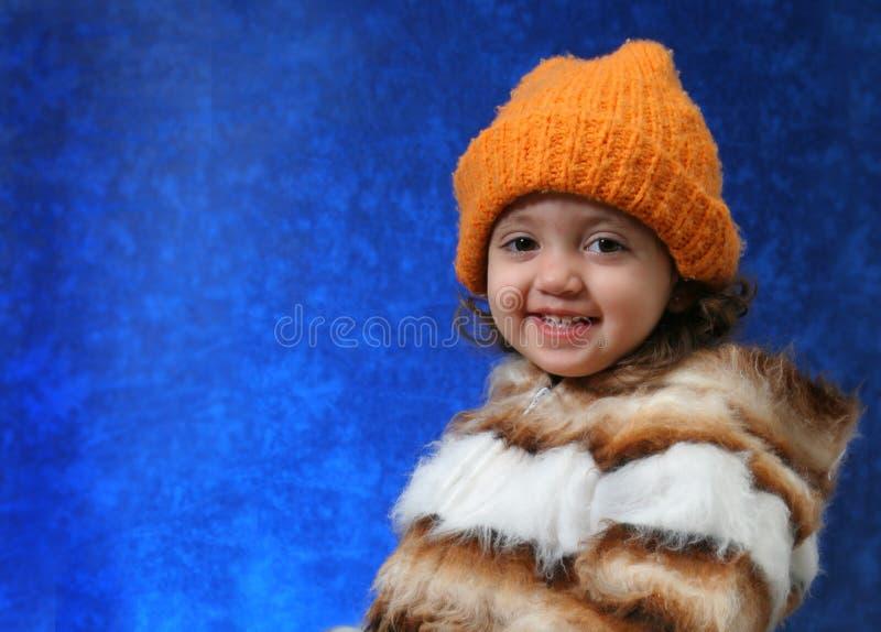 χειμώνας μικρών παιδιών πορτρέτου στοκ φωτογραφίες με δικαίωμα ελεύθερης χρήσης