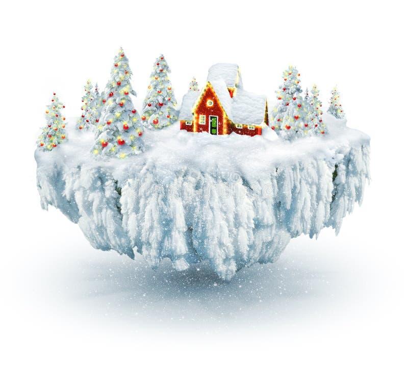 χειμώνας ονείρου ελεύθερη απεικόνιση δικαιώματος