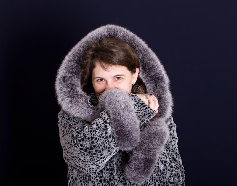 χειμώνας παλτών στοκ φωτογραφίες