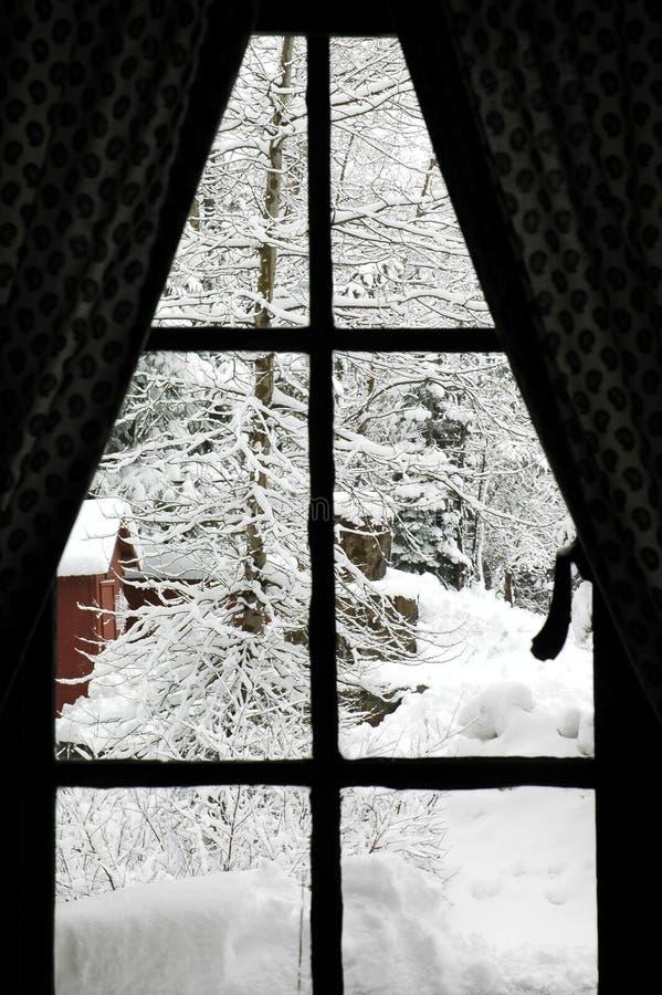 χειμώνας παραθύρων στοκ φωτογραφία με δικαίωμα ελεύθερης χρήσης