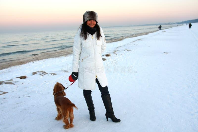 χειμώνας παραλιών στοκ εικόνες με δικαίωμα ελεύθερης χρήσης
