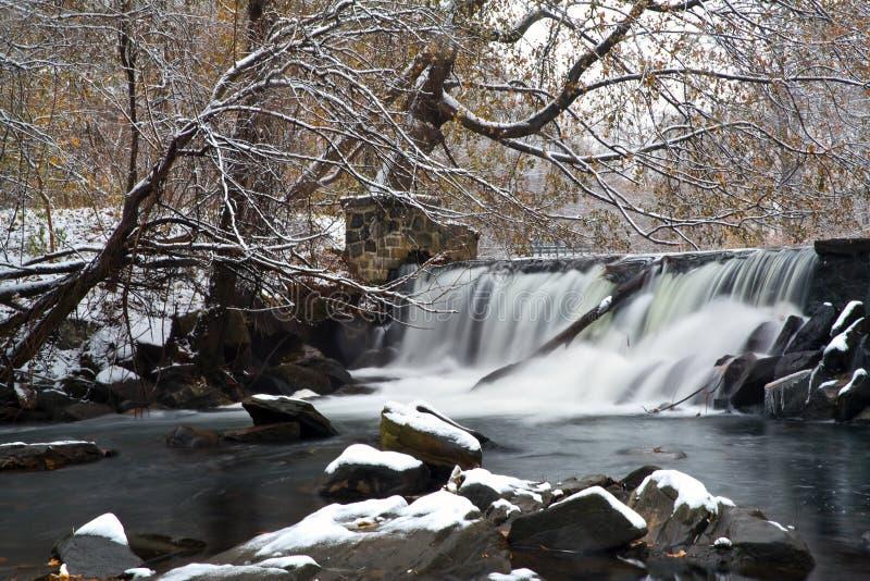 χειμώνας πτώσεων στοκ εικόνα με δικαίωμα ελεύθερης χρήσης