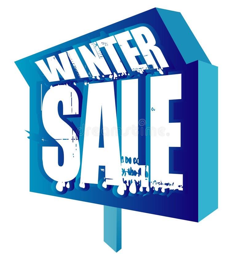 χειμώνας πώλησης ελεύθερη απεικόνιση δικαιώματος