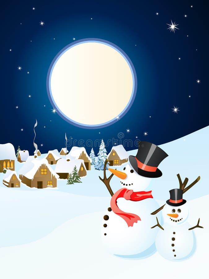 χειμώνας σκηνής Χριστου&gamma ελεύθερη απεικόνιση δικαιώματος