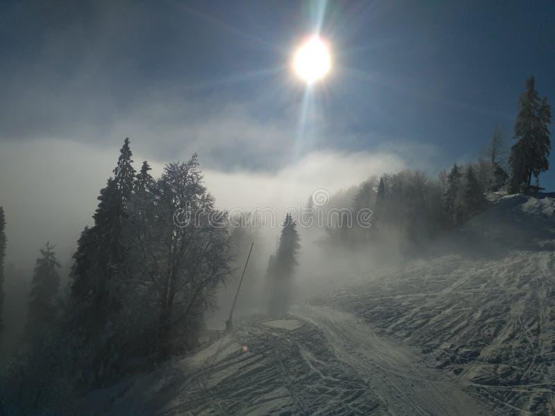 Χειμώνας στην Ουκρανία στοκ φωτογραφία με δικαίωμα ελεύθερης χρήσης