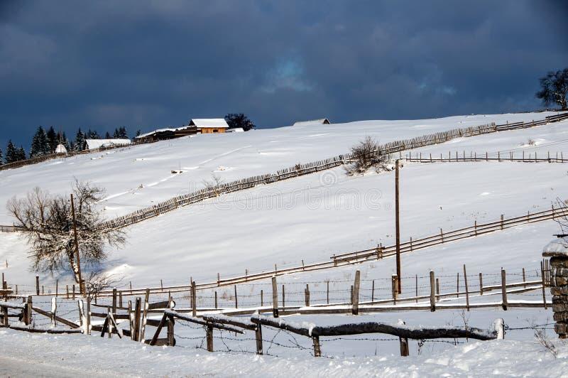 Χειμώνας στη Βοσνία 2 στοκ εικόνες