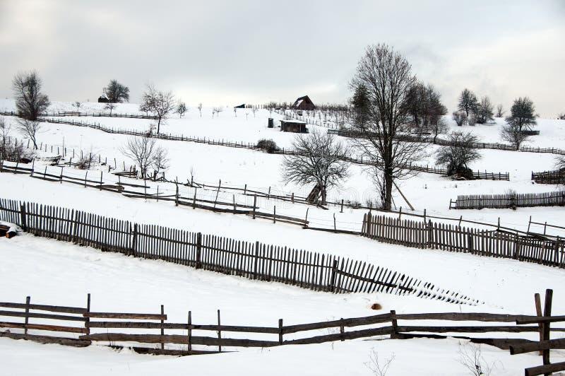 Χειμώνας στη Βοσνία 4 στοκ εικόνες