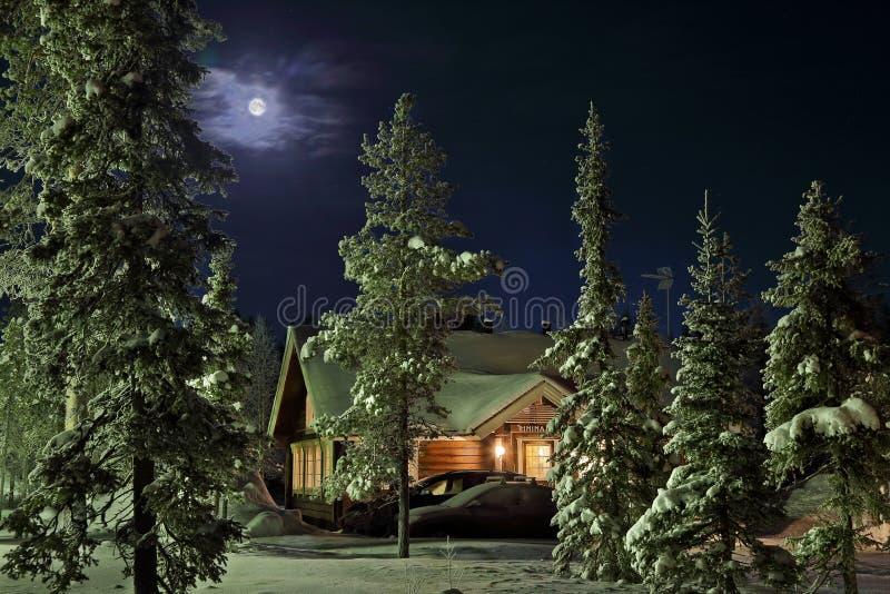 Χειμώνας στη χώρα στοκ φωτογραφίες