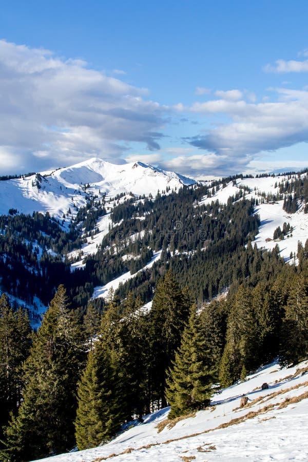 Χειμώνας στις Άλπεις στοκ φωτογραφία με δικαίωμα ελεύθερης χρήσης