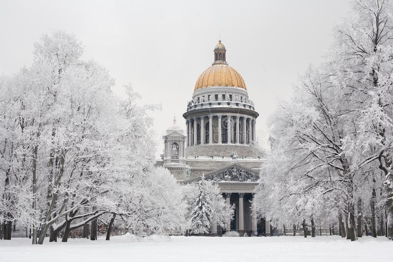 χειμώνας της Πετρούπολη&sigmaf στοκ φωτογραφία με δικαίωμα ελεύθερης χρήσης