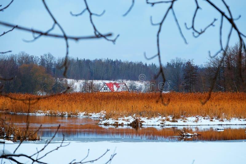 χειμώνας της Πολωνίας στοκ εικόνα με δικαίωμα ελεύθερης χρήσης