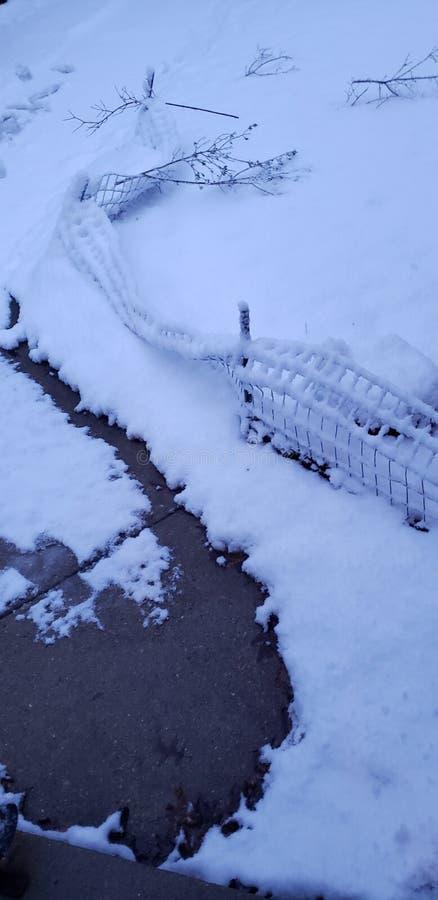 Χειμώνας τον Απρίλιο στοκ εικόνες