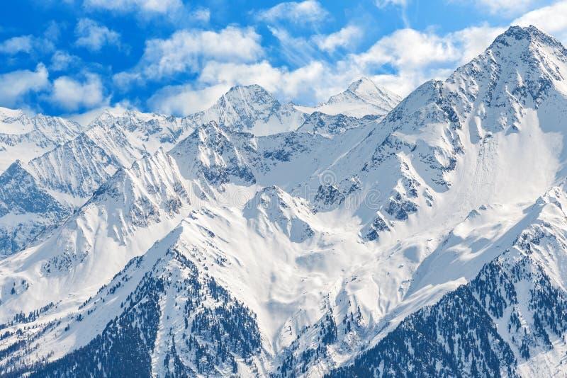 χειμώνας τοπίων ορών στοκ εικόνες με δικαίωμα ελεύθερης χρήσης