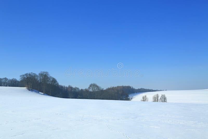 χειμώνας τοπίων της Γερμα&nu στοκ εικόνες