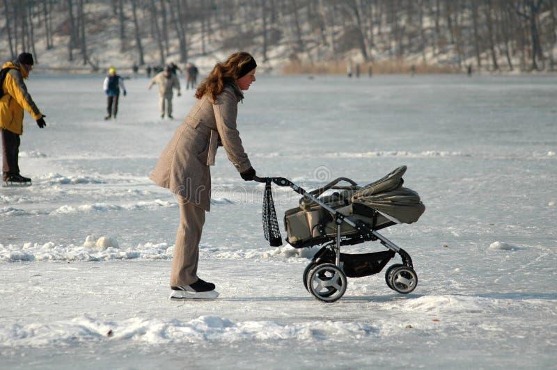 χειμώνας του Βερολίνου στοκ εικόνες με δικαίωμα ελεύθερης χρήσης