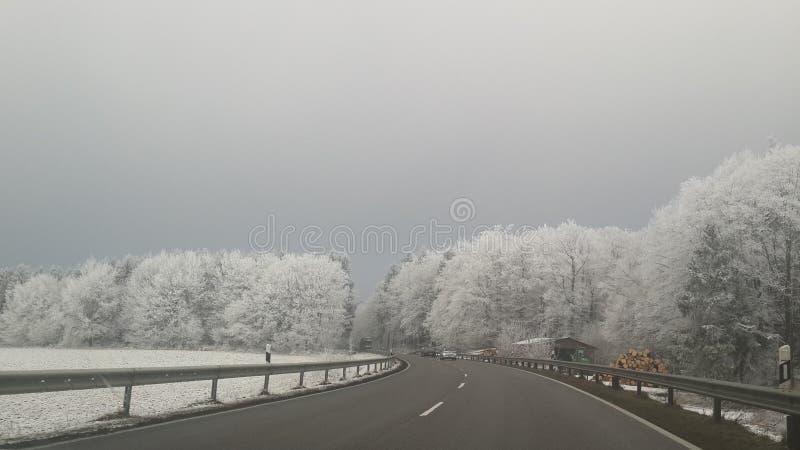 χειμώνας τρόπων στοκ εικόνες