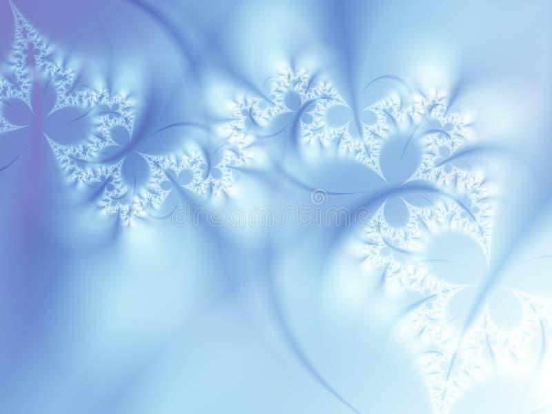 χειμώνας φαντασίας διανυσματική απεικόνιση