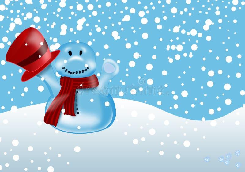χειμώνας χιονανθρώπων απε& ελεύθερη απεικόνιση δικαιώματος