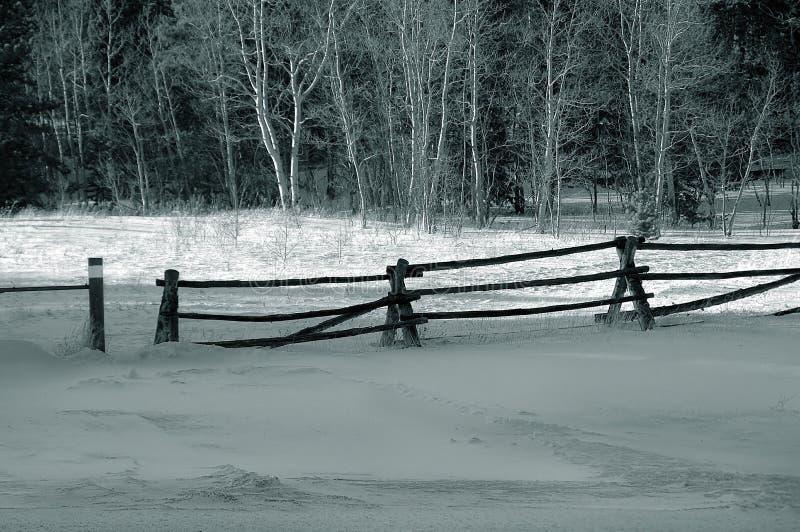 χειμώνας χιονιού φραγών στοκ φωτογραφίες με δικαίωμα ελεύθερης χρήσης