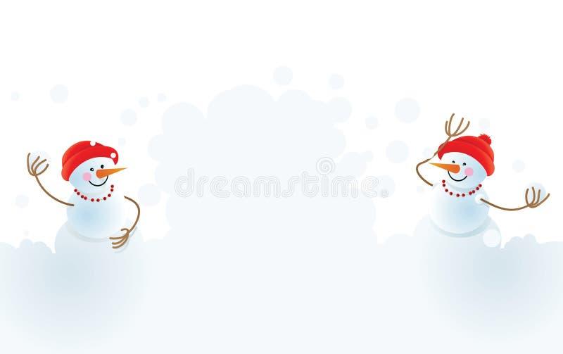 χειμώνας Χριστουγέννων αν απεικόνιση αποθεμάτων