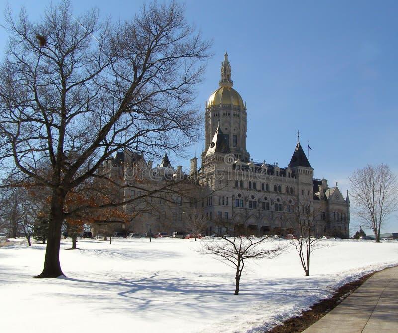 χειμώνας όψης capitol στοκ φωτογραφίες με δικαίωμα ελεύθερης χρήσης